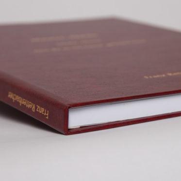 Einband Bachelorarbeit, Diplomarbeit, Masterarbeit, Dissertation Detailansicht (Bordeaux)